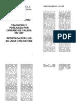 Juan Calvino Institucion de La Religion Cristiana