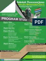 Brosur SPS Universitas Muhammadiyah Jakarta 2015