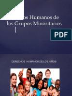 Derechos Humanos de Los Grupos Minoritarios