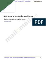 Encuadernar Libros