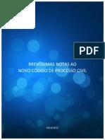 BREVI¦üSSIMAS NOTAS AO NOVO CODIGO DE PROCESSO CIVIL (E-BOOK)[1]