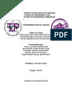 Contaminación de Suelos - Nocividad Del Cromo Proveniente de La Industria