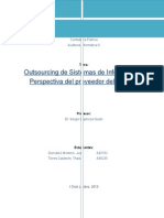 Outsourcing de Sistemas de Información