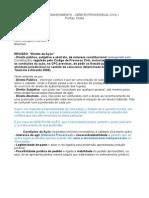 Aulas de Tutela de Conhecimento - Direito Processual Civil I