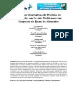 Técnicas Qualitativas de Previsão de Demanda