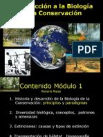 1.Historía y Conceptos en Conservación
