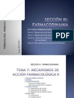 Mecanismos de Acción Farmacológica2