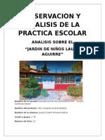 Analisis Del Jardin de Niños Lauro Aguirre