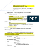 2 immunization requirements & signature paper