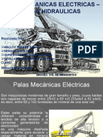 Palas Mecanicas e Hidraulicas