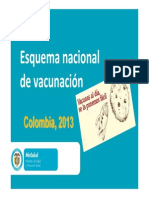 Esquema de Vacunación Nacional