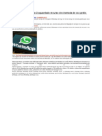 Será WhatsApp Traga O Aguardado Recurso de Chamada de Voz Grátis Much