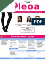 Leoa Business Model Canvas