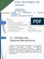 Introducción a Sistemas Mecatronicos