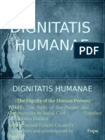 dignitatishumanae