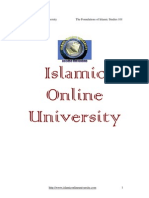 Foundation of ISlamic Study Module 1 (3/5)