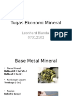 Mineral Ekonomi Mineral