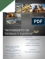 Movimiento de Tierras y Equipos