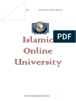 Foundation of ISlamic Study Module 1 (4/5)