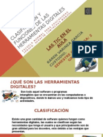 Clasificación y Funciones de Las Herramientas Digitales