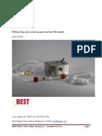 PCB Vacuum tool for PCB rework