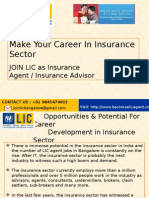 Start Your Career With LIC as Insurance Agent/Insurance Advisor. Call @ +91 9845474003