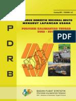 1 PDRB Menurut Lapangan Usaha Kalteng 2009-2013