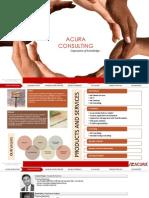 Acura Consulting_Corporate Presentation