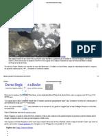 Volcán Nueva Zelanda Se Desahoga