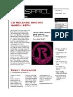 The Shrill February Newsletter