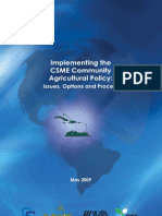 CSME Community Agricultural Policy (CCAP)