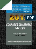 Computer Awareness MCQs Book Free Download