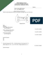 ujian 1 matematik tambahan tingkatan 4
