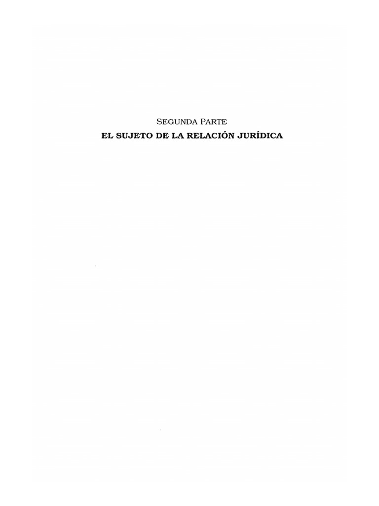 Instituciones de Derecho Civil Parte General Tomo I - Segunda Parte ...