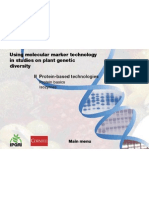 Using Molecular Marker Technology in Studies On