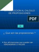 Calculo de Proposiciones