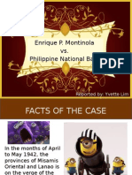 Montinola vs. PNB
