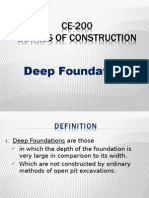 Deep Foundatio