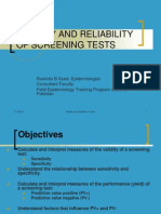 Validity-reliability Screening Tests Rbs-feltp