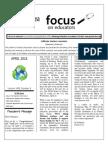 April 2015 Focus