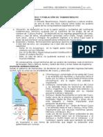 Territorio y Población de Tawantinsuyo