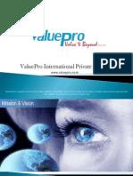 ValuePro - Presentation