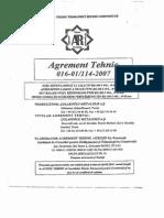 Agrement Tehnic BST500S