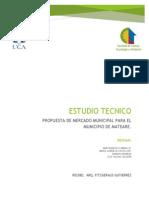 Estudio Tecnico Mercado Mateare.