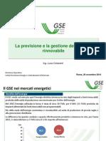 La previsione e la gestione dell'energia rinnovabile