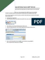 Font in SAP