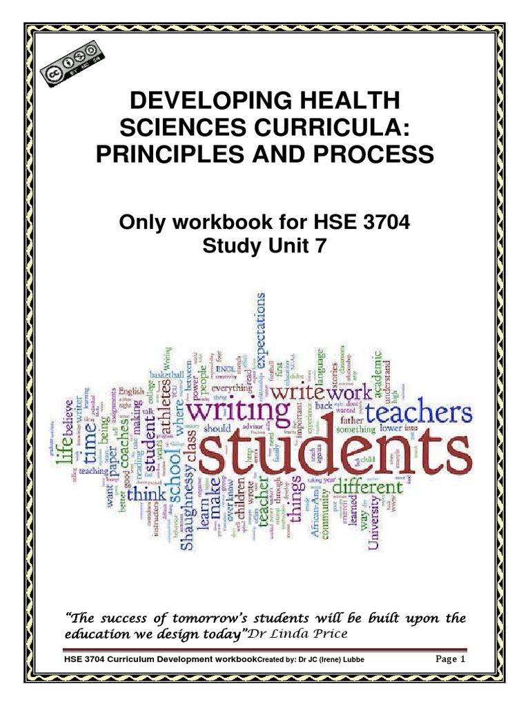 Workbooks success principles workbook : workbook+assignment+05+su7 +2015 | Curriculum | Evaluation