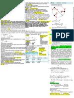 Physics Cheat Sheet - Motion