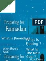 Ramadan Power Point Presentation