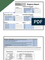 progress report ex tommy pdf